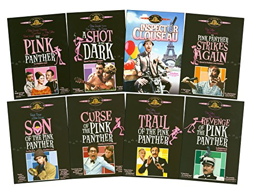 The Pink Panther / A Shot In The Dark / Inspector Clouseau / Pink Panther Strikes Again / Son Of The Pink Panther / Curse Of Pink Panther / Trail Of The Pink Panther / Revenge Of The Pink Panther by MGM (Video & DVD)