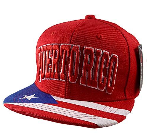 Puerto Rico Baseball Caps - 3