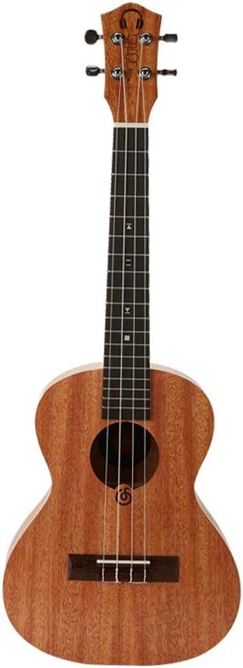 Miiliedy Principiante 23 pulgadas Ukulele Diseño creativo de auriculares Diseño de icono de música clásica Elemento Moda Personalidad Hawaiana Pequeña guitarra Adulto Niño Práctica Ejecutar Ukulele