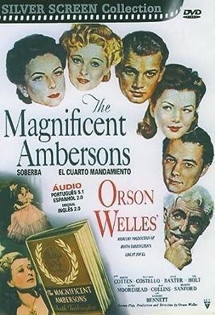 Amazon.com: Magnificent Ambersons aka El Cuarto Mandamiento ...