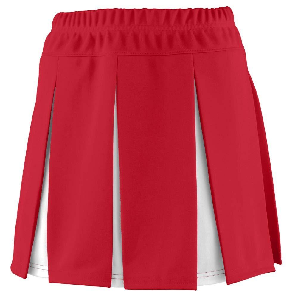 Augusta Sportswear Girls' Liberty Skirt M Red/White by Augusta Sportswear
