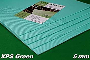 50 M² Trittschalldämmung Dämmung Boden Für Laminat Parkett, 5mm   XPS Green