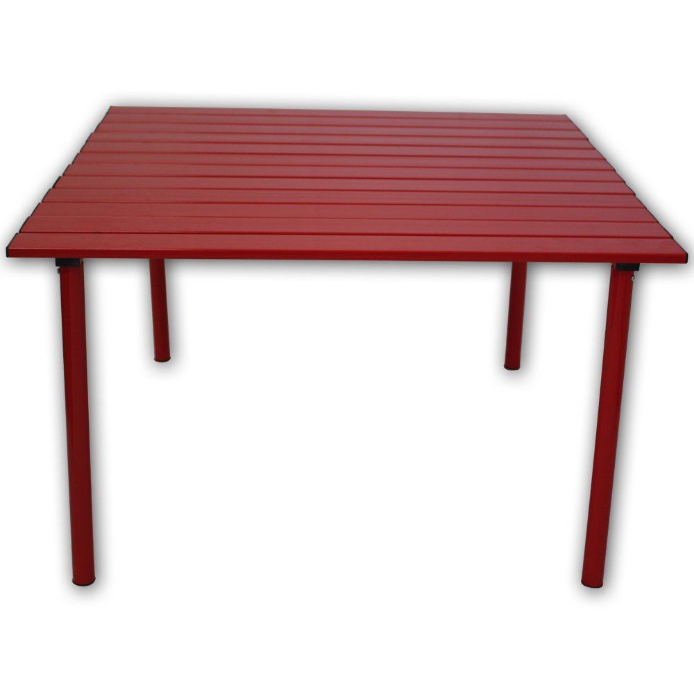 Table in a Bag A2716R Low Aluminum Portable Table in a Bag, Red