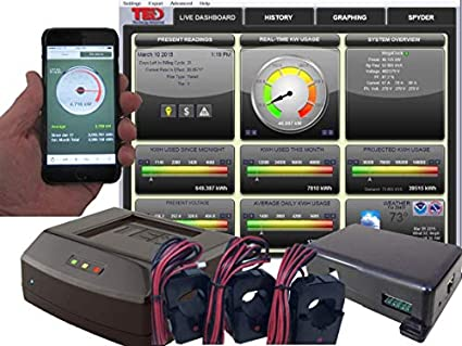 The Energy Detective >> The Energy Detective Pro 400 Energy Monitor Commercial Industrial