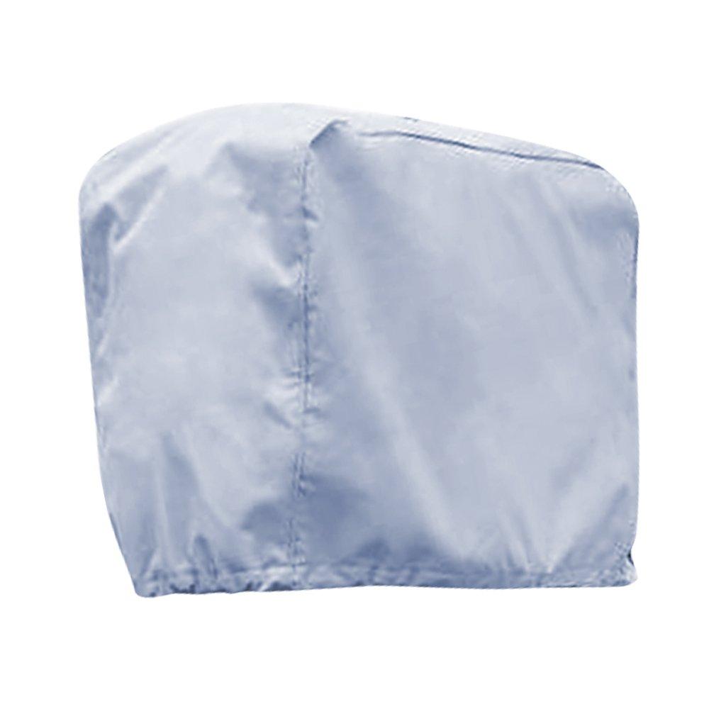 FLAMEER Cubierta Guardí Protectora de Motor de Barco de COlor Gris Impermeable Protecion de UV y Clima