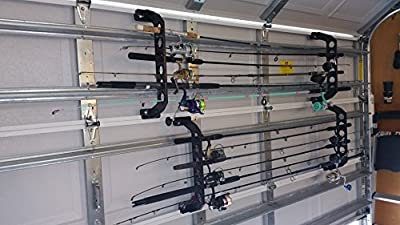 Cobra Storage, Garage Door Rack, 21 Inches Size: 21 Inches Color: Black, Model: , Outdoor & Hardware Store