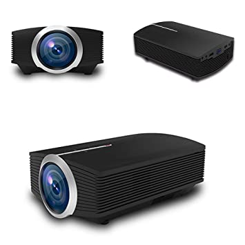 YAOkxin Mini portátil 1080P proyector HD Cine en casa Puede ...