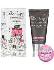 Dr. Lipp - Organic Lanolin Lip Balm & Nipple Cream - Natural Moisturizer For Dry Chapped Lips, Nursing or Breastfeeding, Diaper Rash, Eyelashes, Sore Nose & So Much More (15 ml)