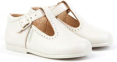 Pepitos de niño de Piel. Marca AngelitoS. Modelo 503. Calzado Infantil Hecho en España: Amazon.es: Zapatos y complementos