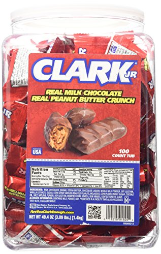 UPC 011215008002, Clark Mini Bar/ Clark Jr. 100 Count Tub