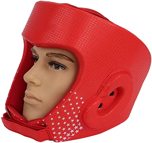 Training Boxing Headgear Face Head Protective Gear Helmet Guard MMA Kickboxing