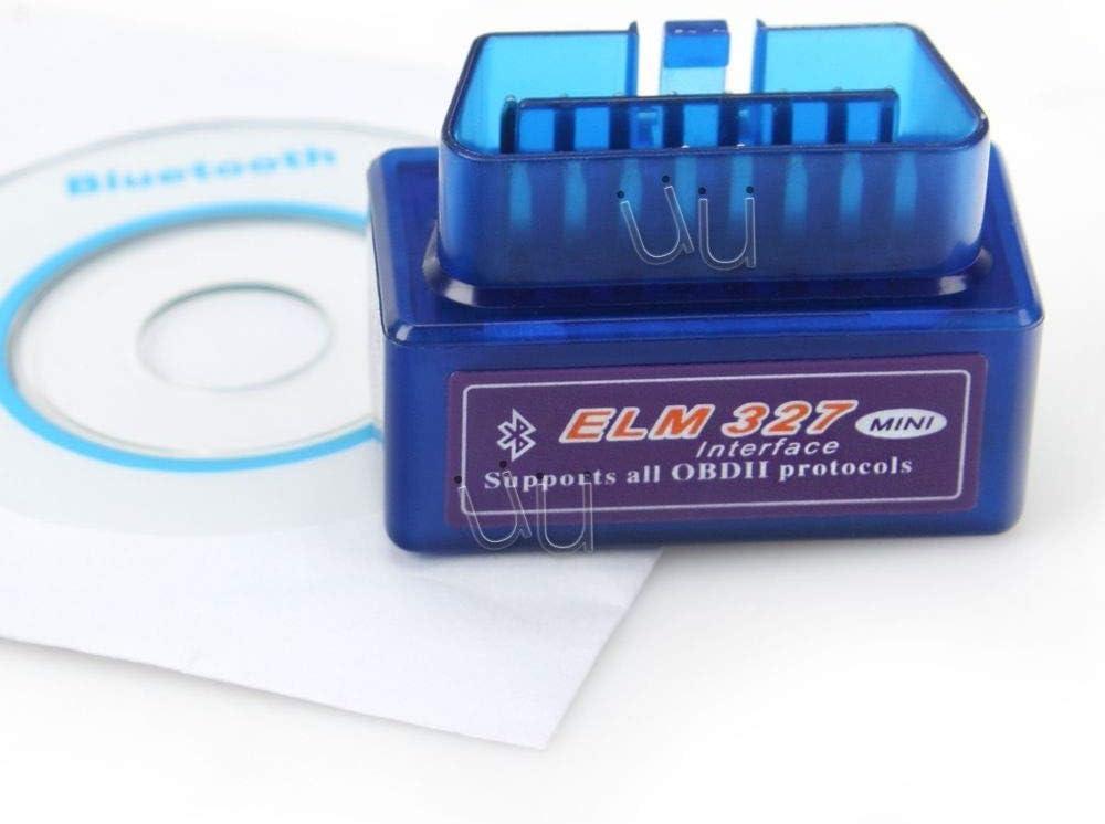 TrAdE shop Traesio Scanner Elm Mini Odbii Obd2 Diagnosi Auto Moto Bluetooth Diagnosi Motore Android