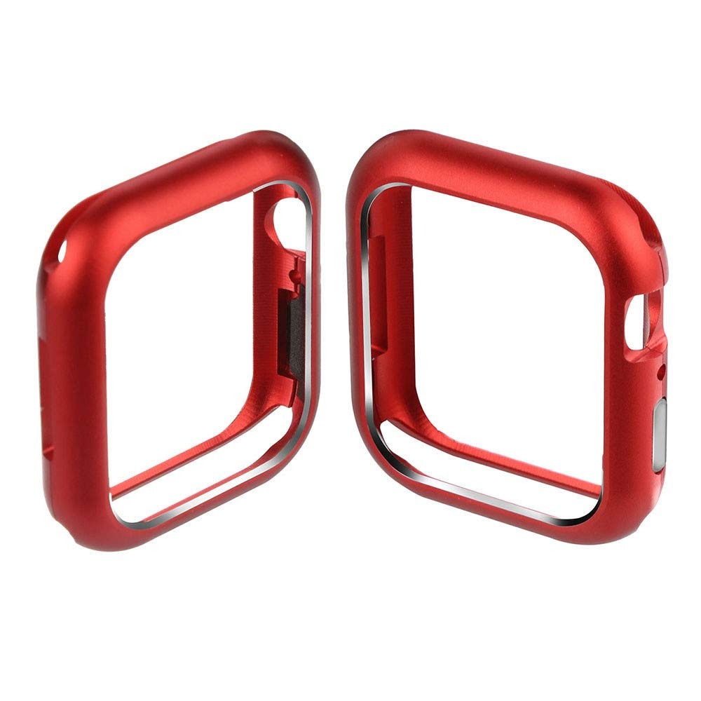 ABASSKY Magnetic Frame Watch Case Protective Cover for Apple Watch Series 4 44mm (Red) by ABASSKY (Image #5)