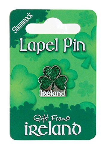 Gift from Ireland Pin - Shamrock Ireland - Glitter