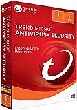Software : Trend Micro Antivirus 2018 1 User