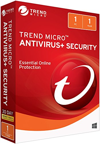 Trend Micro Antivirus 2018 1 User [Key Card]