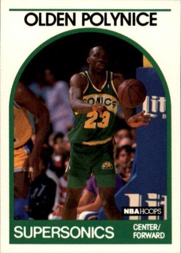 - 1989-90 Hoops #152 Olden Polynice RC