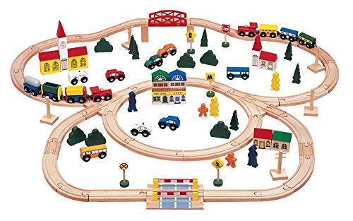 The city and the railway play Deluxe (100 pieces) by Concertgebouw