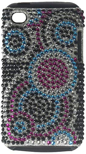 MyBat Bubble Diamante Fusion Protector Cover for iPod touch Generation 4 (Blue/Pink/Silver)