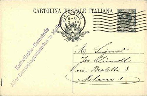 Cartolina Postale Italiana Postal Cards Original Vintage Postcard