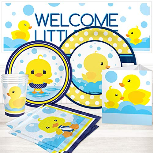 Rubber Ducky Baby Shower Party Package for 16 -