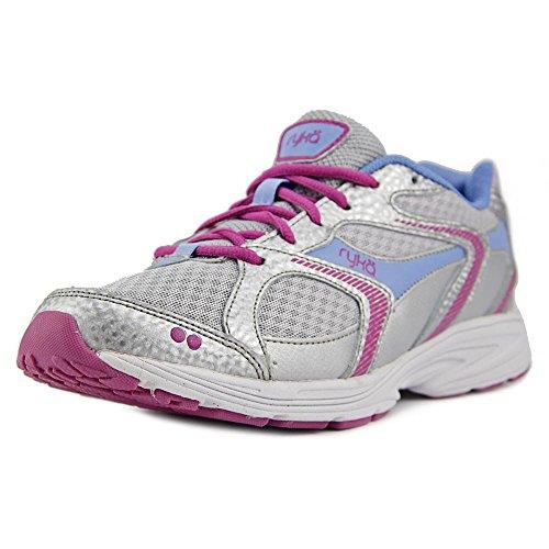 Ryka Streak Mujer US 9.5 Plata Zapato para Correr
