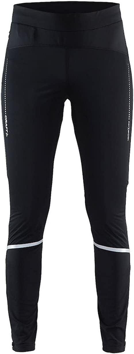 Craft Sportswear Womens Essential 2-in-1 Running and Training Fitness Workout Reflective Shorts with Inner Tights Black 2X-Large