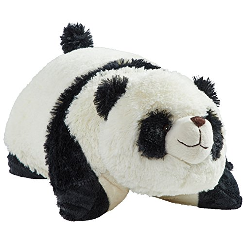 "Pillow Pets Originals Comfy Panda, 18"" Stuffed Animal Plush Toy"