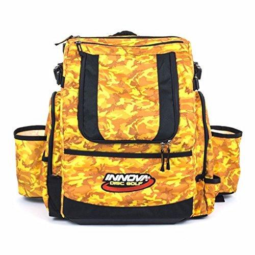Innova HeroPack Disc Golf Backpack Bag (Orange Camo)
