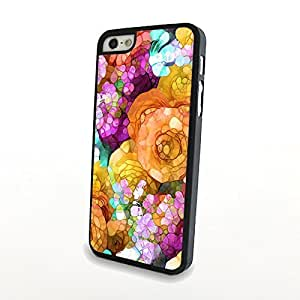 CaseBeautiful Liveliy Flowers Matte Pattern PC Phone Cases fit for Fresh Colorful iPhone 5/5S Cases