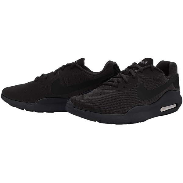 nike men's air max oketo shoes - black/anthracite