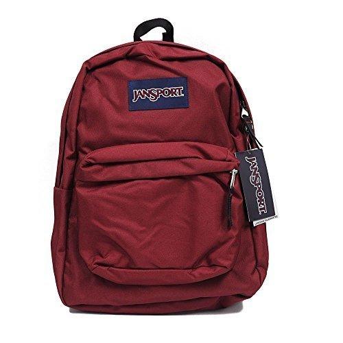 百思买 Jansport Backpack Superbreak School Original Select Color: Viking Red