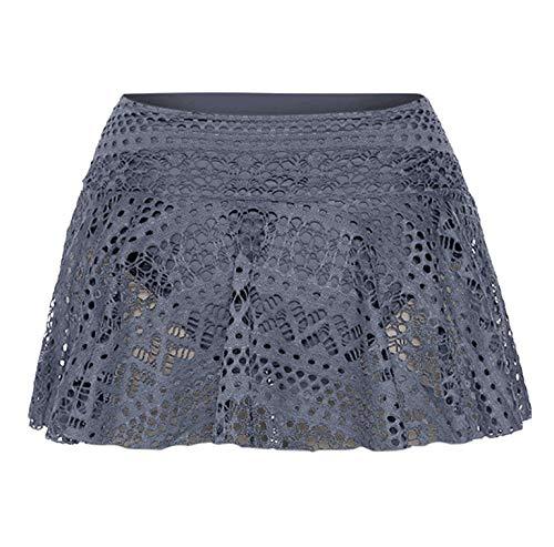 43875d4d84faf Amazon.com: Swim Skirt Clearance, Women Sexy Lace Crochet Skirted ...