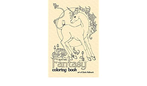 - Amazon.com: Renfaire Fantasy Coloring Book (9781365042478): Hallmark,  Darla: Books