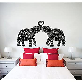 Wall Vinyl Sticker Decals Decor Art Bedroom Design Mural Ganesh Om - Wall stickers for bedroom