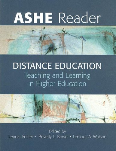 Distance Education: Teaching and Learning in Higher Education