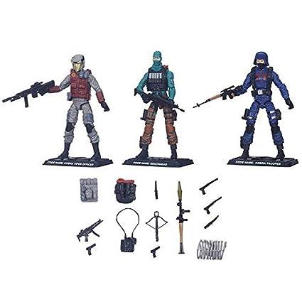 "Gi Joe 12/"" Cobra Viper Figure with Weapons and Gear Hasbro"