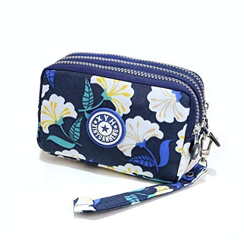 Multifunctional 5S S7 S6 6S Crossbody Flower2 iPhone 6 Layers for Handbag Mini Pouch S8 Bag 3 5C Plus Phone Armband Samsung Edge 7 Shoulder dqn1aR