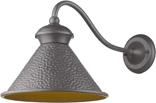 Sir/ét Lighting ST7001-RT Pickwick 1-Light Rust Small Dark Sky Outdoor Sconce