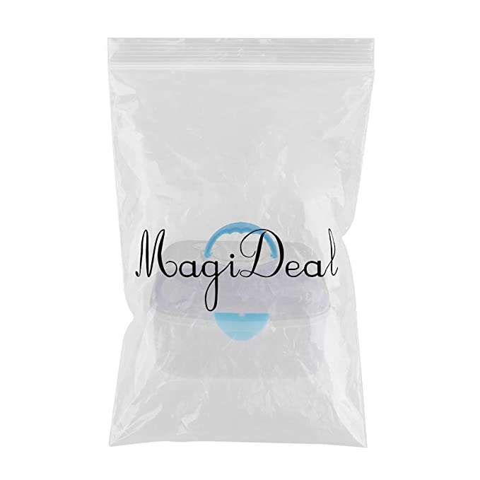 Blau MagiDeal Transparent Babyflaschen Aufbewahrung Flaschenkiste Flaschenbox mit Trockenst/änder Abtropfgestelle