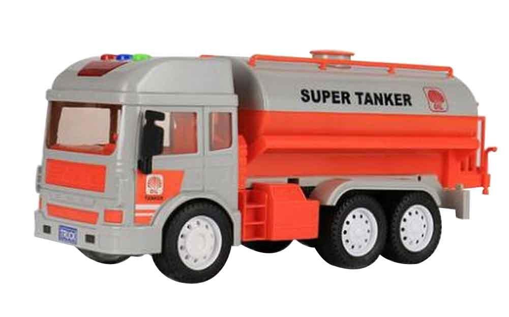nero Temptation Giocattoli per veicoli da costruzione di grandi dimensioni con musica e luce per bambino, serbatoio per carburante