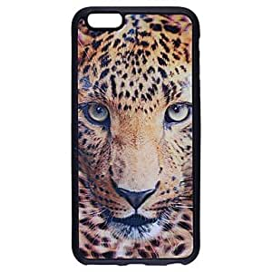 PG Fashionable 3D Leopard Pattern Protective TPU Soft Case for iPhone 6 Plus