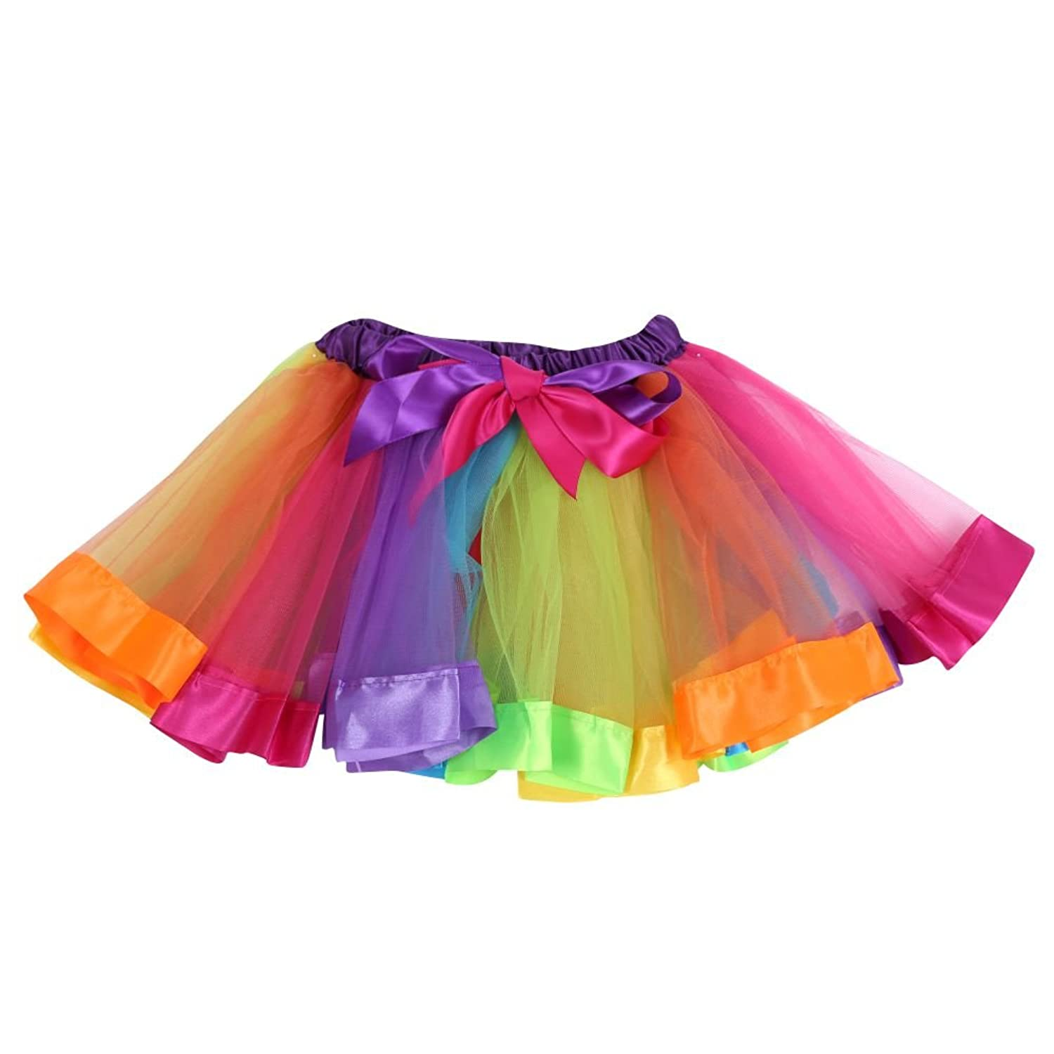 Brightup Kids Girls Ballet Tutu Skirts Baby Toddlers Casual Mini Skirt  Princess: Amazon.co.uk: Clothing