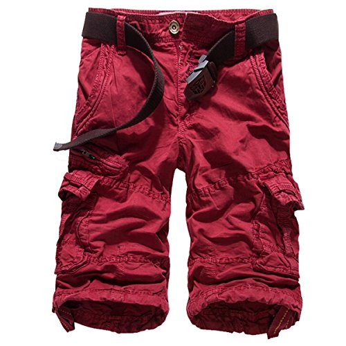 Win8Fong -  Pantaloncini  - Uomo Wine Red 50