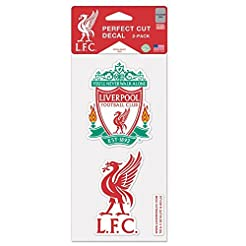 WinCraft Liverpool FC Die Cut Set Of Two...