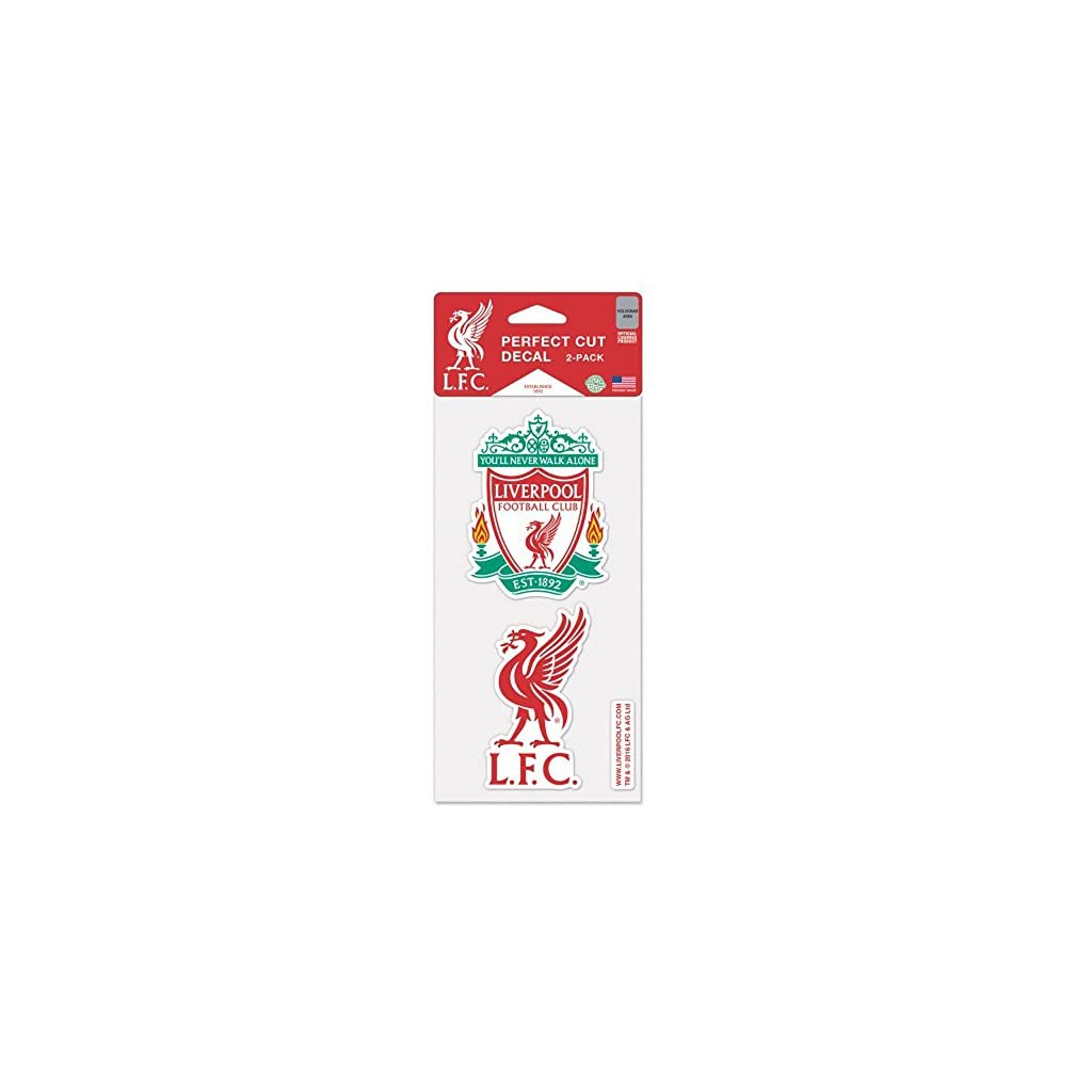 WinCraft Liverpool FC Die Cut Set Of Two 4×4 Decals