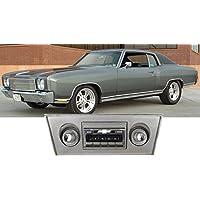 1970-1972 Chevy Monte Carlo USA-630 II High Power 300 watt AM FM Car Stereo/Radio with iPod Docking Cable