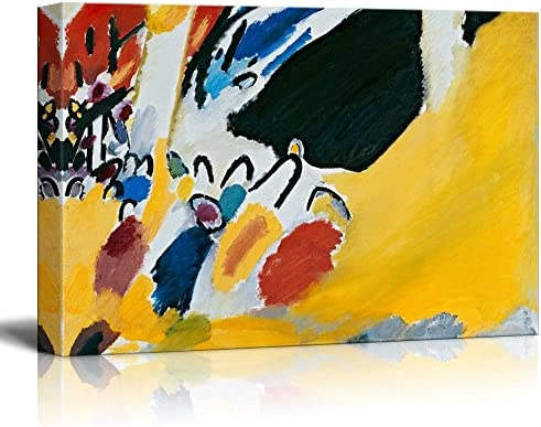 Impression III by Wassily Kandinsky Print Famous Painting Reproduction