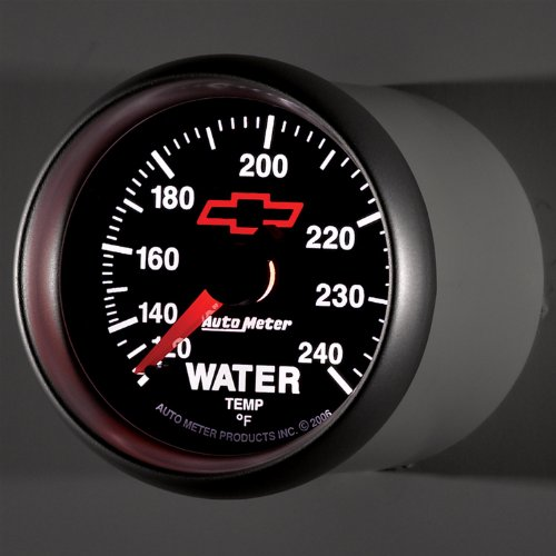 Auto Meter 3632-00406 GM Series Mechanical Water Temperature Gauge by Auto Meter (Image #3)