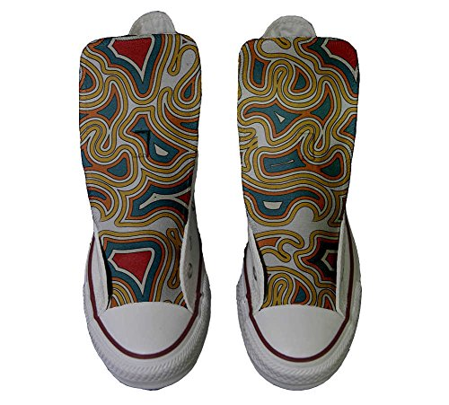 Converse All Star personalisierte Schuhe - HANDMADE SHOES - Tribal Texture